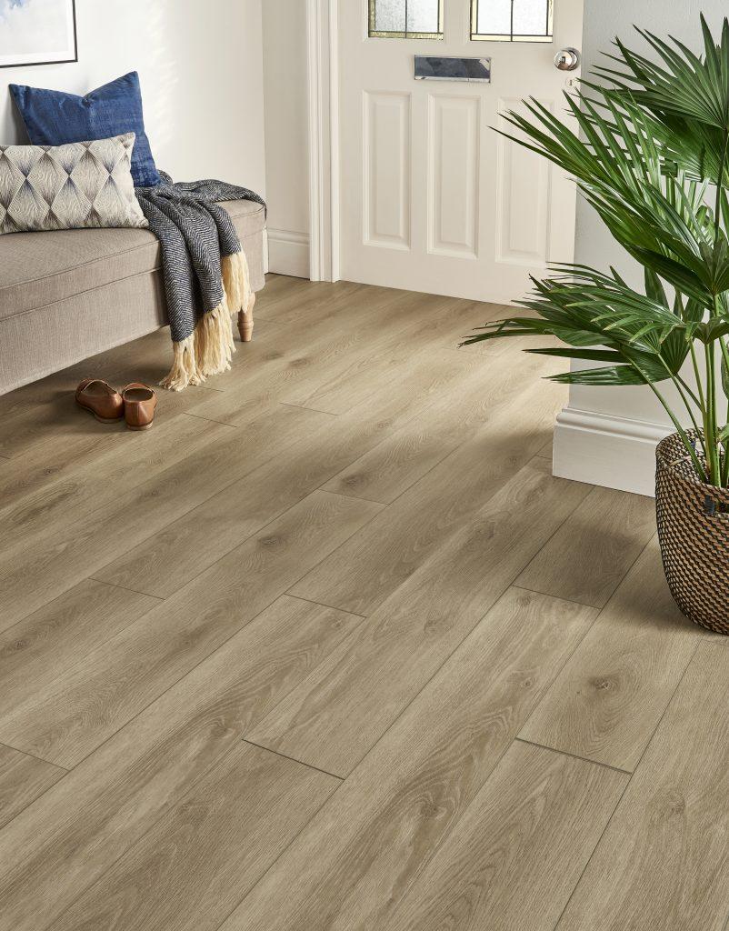 busy family home - EvoCore Premium Sahara Oak
