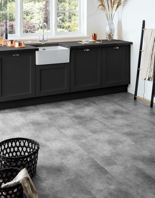 Trade Select Concrete Grey LVT